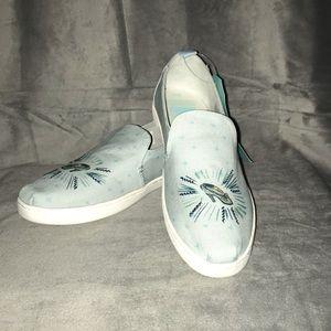 Tom's Disney blue Cinderella glass slipper
